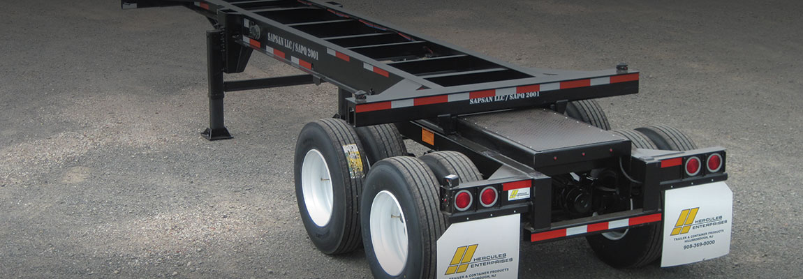 Container Chassis Landing Gear : Slider container chassis hercules